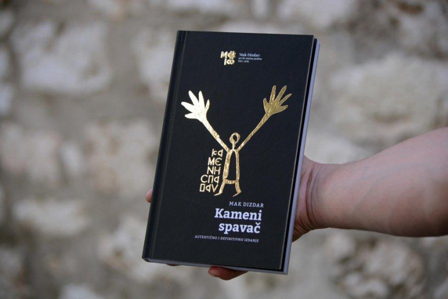 Slikovni rezultat za Predstavljeno autentično izdanje 'Kamenog spavača' Maka Dizdara